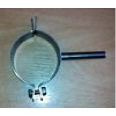 Obejma nierdzewna do rury fi 26 - 28 mm z trzpieniem fi 10 x 60 mm
